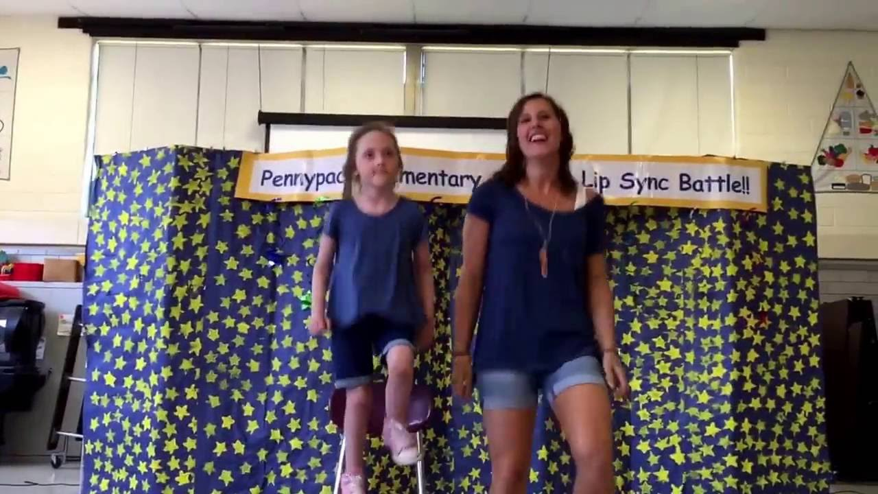 Elementary Classroom Playlist ~ Pennypack elementary teacher lip sync with student who