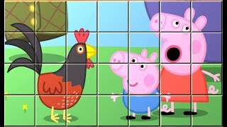 Peppa Pig Game - Blocks Puzzle for Kids