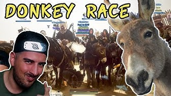 BDO DONKEY RACE   ESEL RENNEN   Black Desert Online - Wakayashi