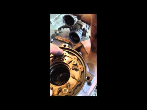 Diesel VGT Turbo Cleaning under boost over boost