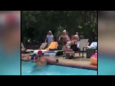 Woman fired for calling police on black man wearing socks in pool