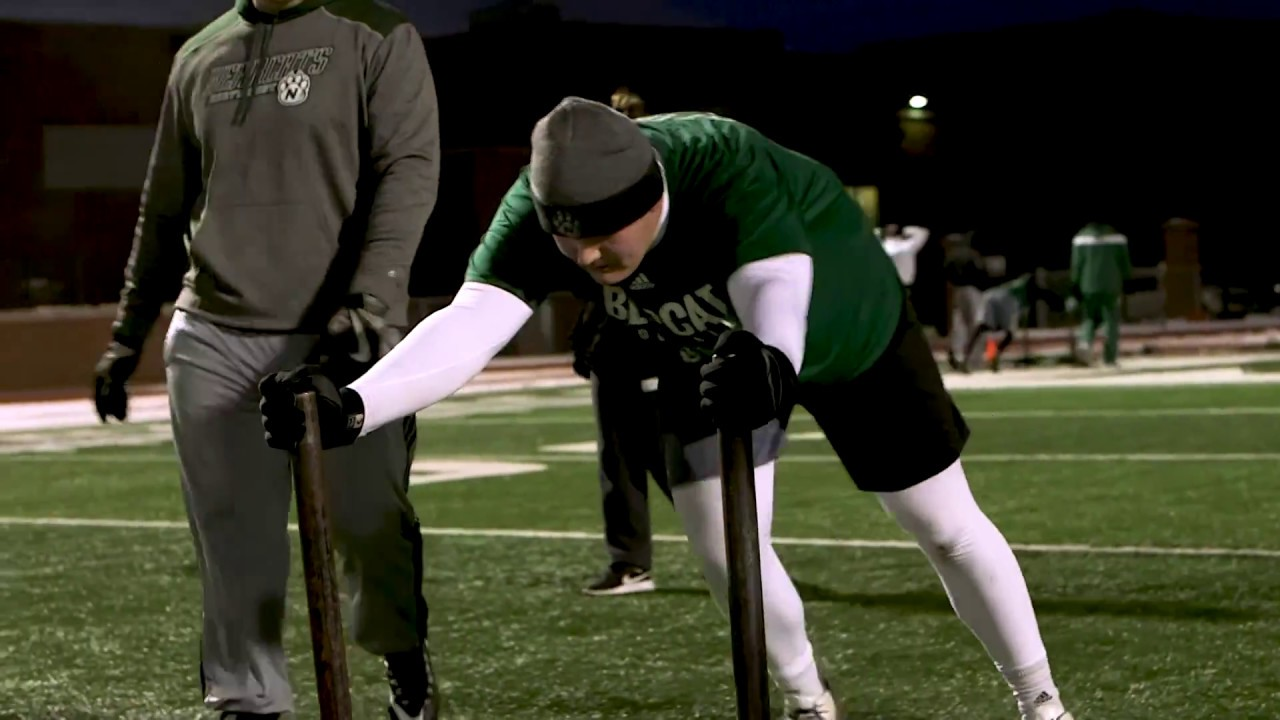 Northwest Missouri State Football Conditioning