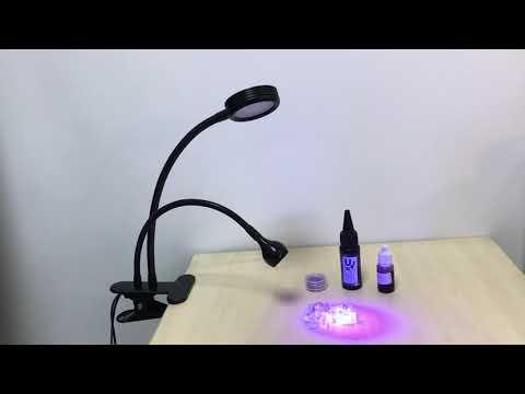 UV LED black light and 5w daylight led work light