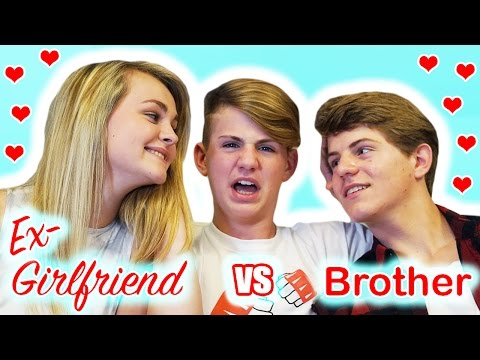 Thumbnail: Ex-Girlfriend vs Brother - Who Knows MattyBRaps Better?