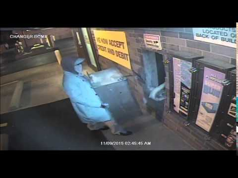 Theft of change machine from Spot Free Carwash