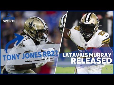 New Orleans Saints release RB Latavius Murray; Tony Jones Jr. to ...