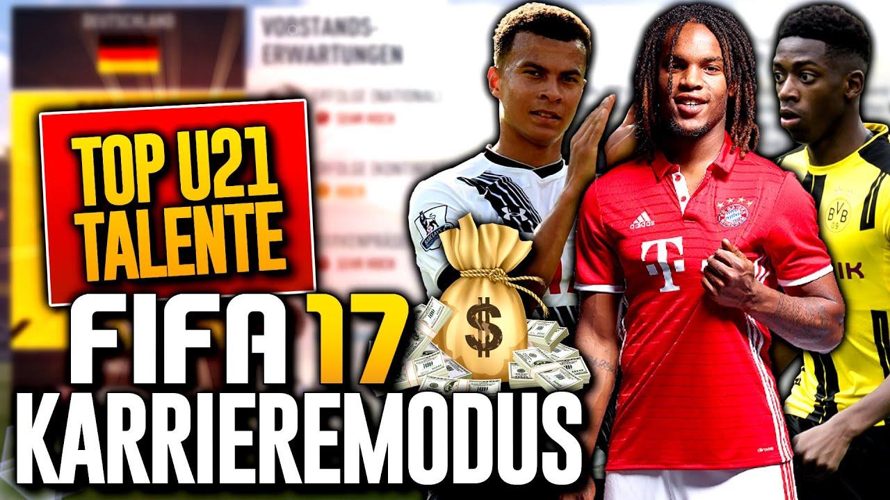 Fifa 17 Karriere Talente