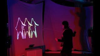 «Noctambule», un parcours lumineux et interactif au Centre de la nature de Laval