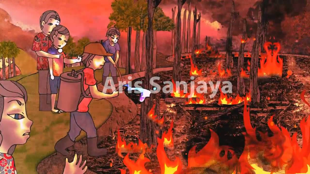 forest fires animation youtube
