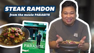 How To Make Steak Ramdon From Parasite!!!