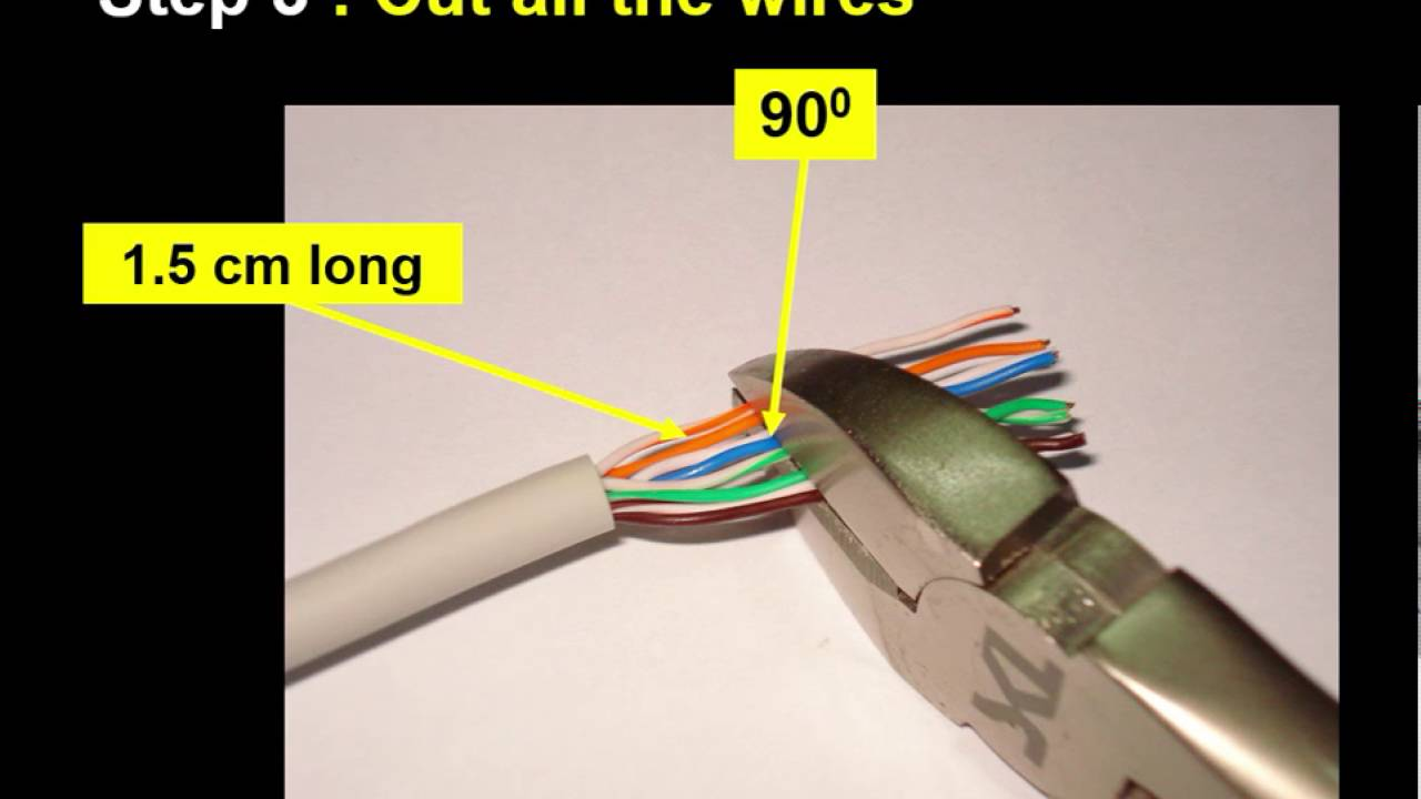 HOW TO CRIMP RJ45 Ethernet Internet CABLE with TESTING - YouTube
