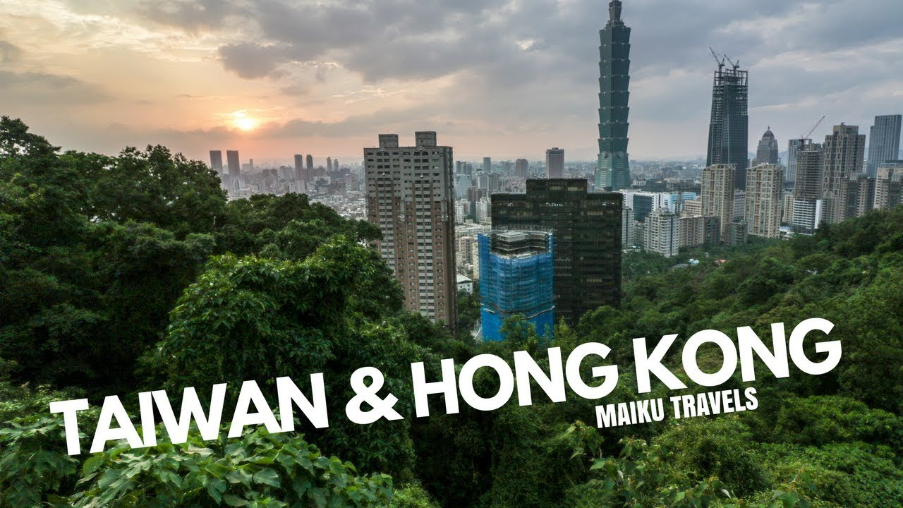 TAIWAN HONG KONG Maiku Travels YouTube - Incredible drone footage captures hong kong