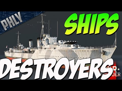 WE SHIPS BABY - Destroyer SHIPS Confirmed (War Thunder Naval Forces)