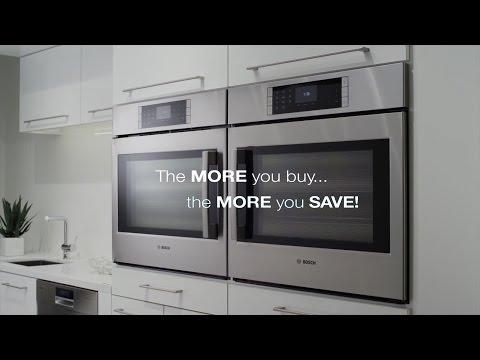 Receive A 10% Rebate On Qualifying Bosch Appliances Kitchen Packages | Bosch Appliances