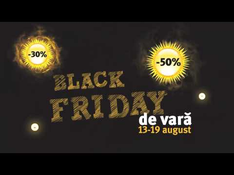 Reclamă ALTEX - Black Friday de Vară - August 2016