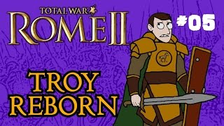 Total War: Rome 2 - Troy Reborn - Part 5 - March to Athens!
