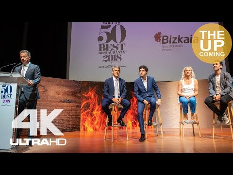 The World 50 Best Restaurants 2018 opening press conference in Bilbao