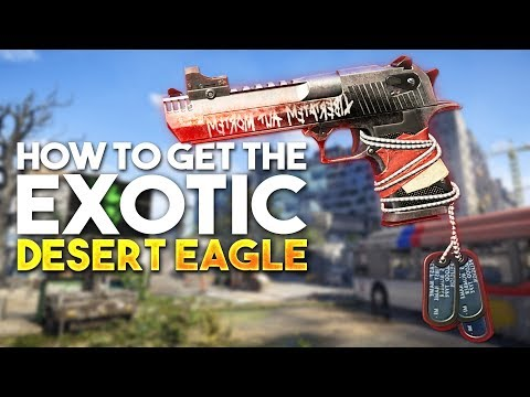 The Division 2 How To Get Exotic Desert Eagle (Best Pistol)
