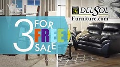 3 for FREE Furniture Sale at Del Sol Furniture & Mattress in Phoenix Arizona