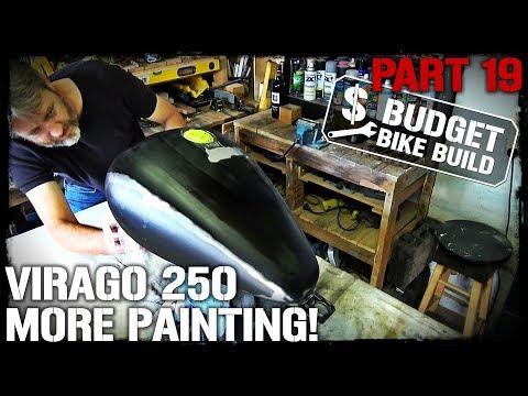 Virago 250 Build - PART 19. More Painting!