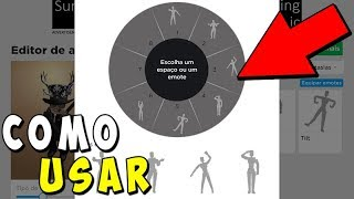 COMMENT À CATCH ET USE EMOTES IN ROBLOX!!
