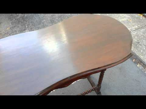 Antique Table - Walnut side table