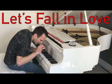 Let's Fall in Love - Jazz Piano Cover by Jonny May