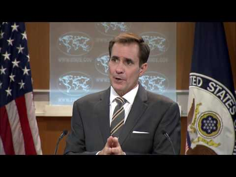 Daily Press Briefing - October 21, 2016