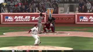MLB 14 The Show (PS4) St Louis Cardinals Franchise Ep6 | NL Central Rivalry by TwoClutchGaming