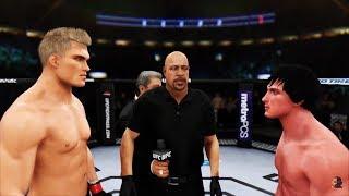 ROCKY BALBOA vs IVAN DRAGO 2K18   EA Sports UFC 3