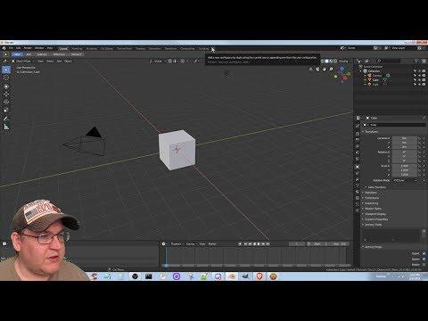 [Blender 2.80] Enchanted Lands Devlog #180 - Blender 3D: Noob to Pro 12 - Workspace fun thumbnail