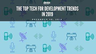 [Full Webinar] The top tech for development trends in 2019