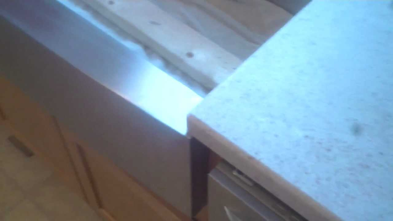 Livingstone Kitchen Countertop Installed With A Undermount