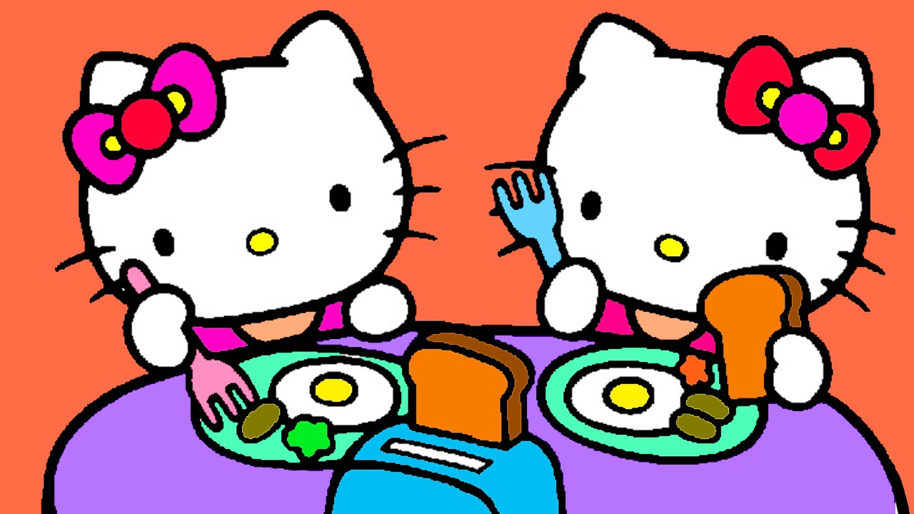 hello kitty coloring for kids hello kitty coloring for children