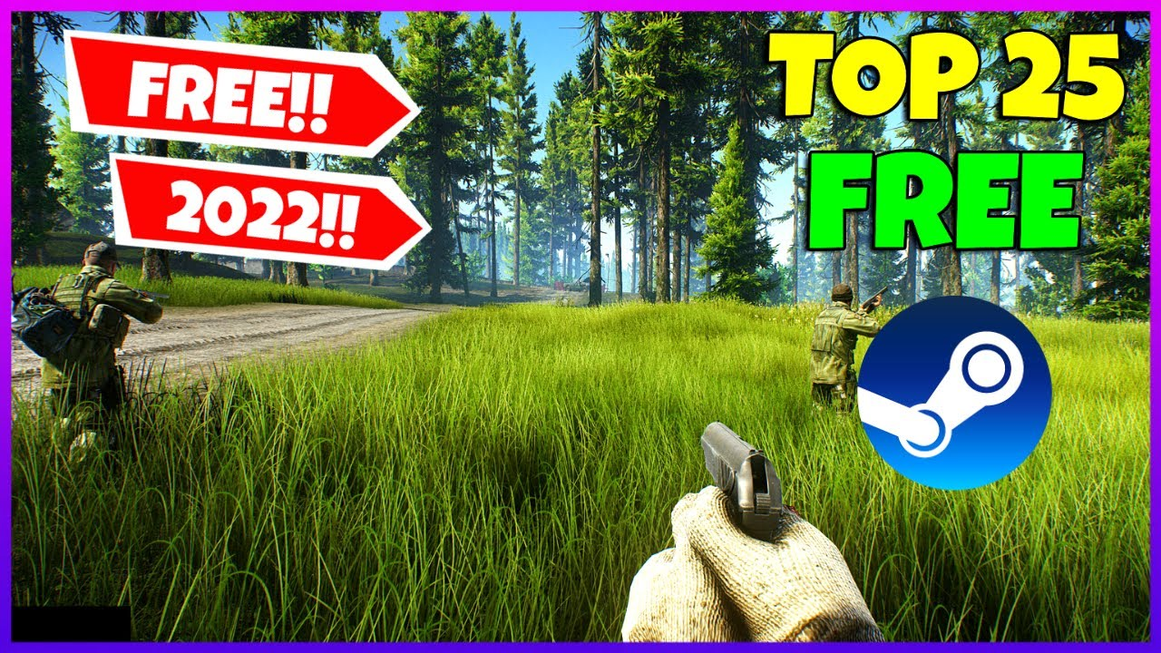 Download Top 25 Steam Games that you can play right now for Absolute FREE!!🔥 (Free to Play) 2021