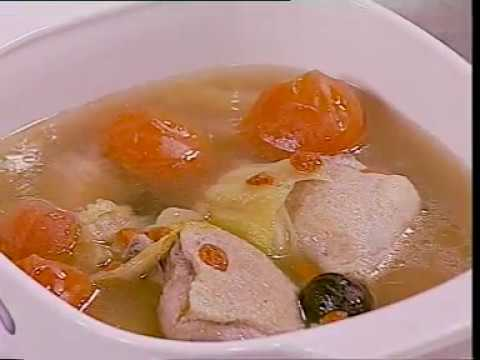 "Duck In Salted Mustard Soup  # Chinese Cooking Series # 2  ""Dishes for home party""_R1"
