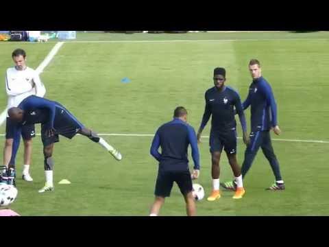 Dimitri Payet ● Eliaquim Mangala ● Samuel Umtiti ● Clairefontaine