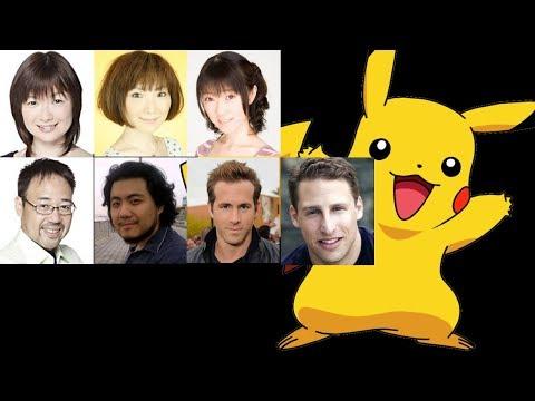 Anime Voice Comparison- Pikachu (Pokemon)