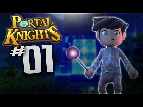 Portal Knights - Ep 1 - Mage Class - Let's Play Portal Knights Gameplay