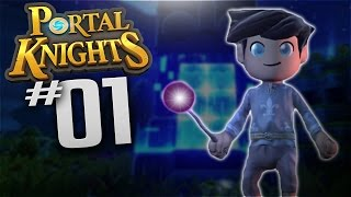 Portal Knights - Ep 1 - Mage Class - Let