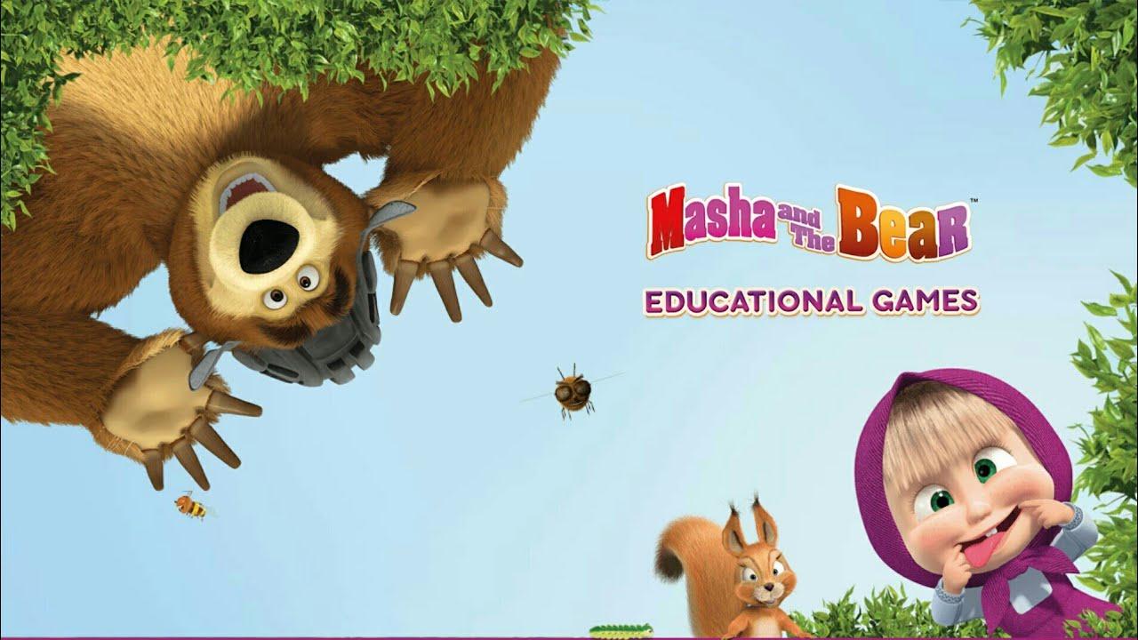 Resultado de imagem para Masha and the Bear. Educational Games
