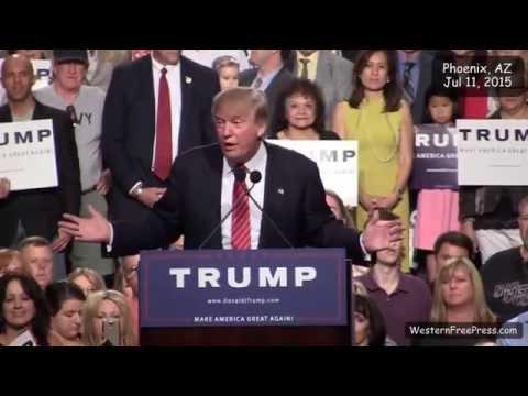 Donald Trump Wows Thousands at Phoenix Rally   Full Speech Donald trump president