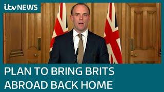 £75 million pledged to help rescue Britons stranded abroad amid coronavirus lockdowns | ITV News