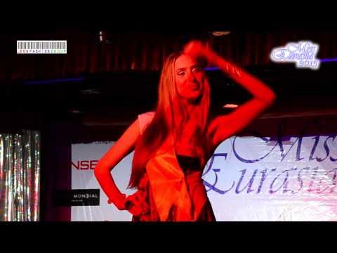 TOP-12. Fashion Roberto Bravo in a beauty contest MISS EURASIA-2013, ANTALYA