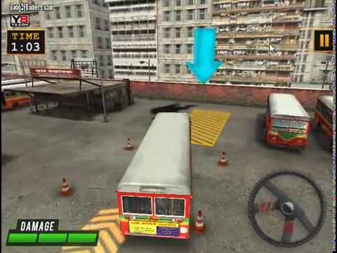 game online bus parking