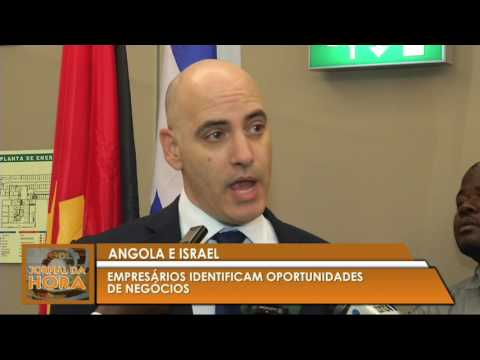 tv zimbo report  Israel Angola Visit in Angola June 2017