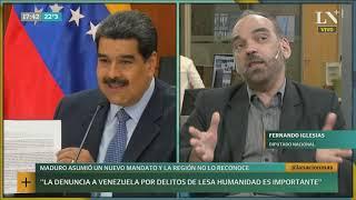 ¿Por qué consideran ilegítimo el mandato de Maduro? Fernando Iglesias en LN+