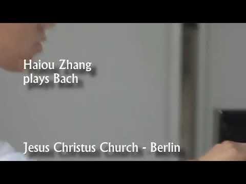 Haiou Zhang plays Bach