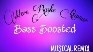 BASS BOOSTED: Mere Rashke Qamar | Musical Remix