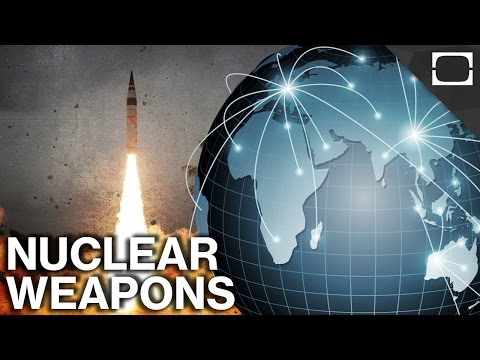 Where Are The World's Nuclear Weapons Stored?